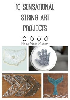 10 string art projects