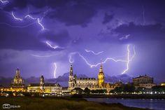Blitze fotografieren – Gewitter fotografieren | DDpix.de