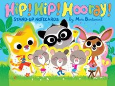 Hip! Hip! Hooray! Stand-Up Notecards: Marc Boutavant: 9780811878487: Amazon.com: Books