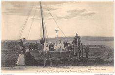 Roscoff, baptême d'un bateau