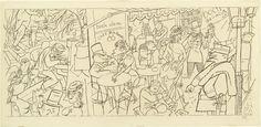 Café 1926 George Grosz