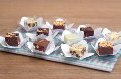 As delícias em cubinhos da Craving for Fudge/ Foto: Helena Gama