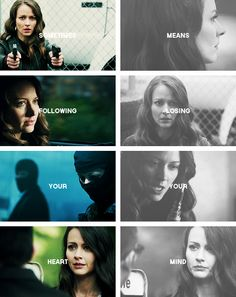 Root: sometimes following your heart means losing your mind #poi -- This is excellent.  perfect blend of the photos from this episode with the words. idk where those words came from - if it's a POI script quote or not - but they fit perfectly.  whoever made this did an ace job as the brits say lol :)