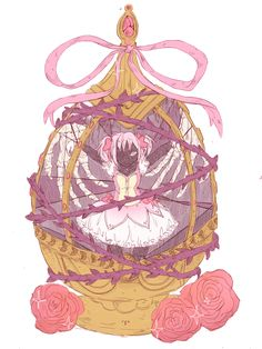 Find images and videos about madoka magica, madoka kaname and soul gem on We Heart It - the app to get lost in what you love. Manga Anime, Fanarts Anime, Anime Art, Madoka Magica, Sayaka Miki, I Love Anime, Magical Girl, Vocaloid, Otaku