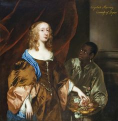 Elizabeth Murray, Lady Tollemache - Sir Peter Lely, 1651.