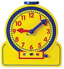 Learning Resources Primary Time Teacher 12HR Learning Clock by Lea