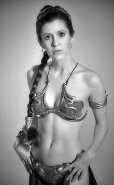 Carrie Fisher - Return of the Jedi (1983)