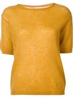 SIMON MILLER short sleeved sweater. #simonmiller #cloth #sweater