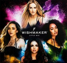 The cover for Little Mix's new perfume 'Wishmaker'