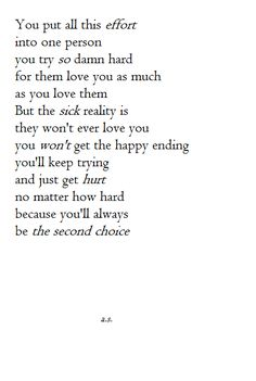 Never meant to hurt you poems