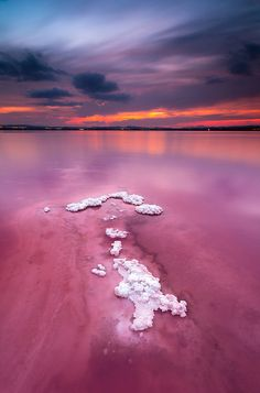 Salt Lakes (Las Salinas), Torrevieja. Spain. Nearby our Scardroy Home Costa Blanca Apartment