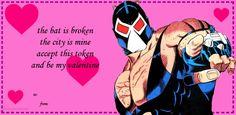 Batman Valentines Bane