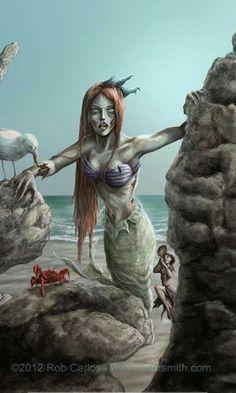 Disney zombies Ariel