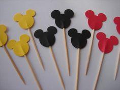 Disney Mickey Mouse Baking Birthday Wedding Baby Shower by MoonChi, $3.99