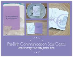 Pre-Birth Communication Soul Deck---get daily inspiration from your baby!