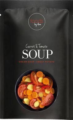 Foods by Ann Sans Gluten Sans Lactose, Cream Soup, Tomato Soup, Fibres, Sweet Potato, Soups, Potatoes, Food, Freeze Drying