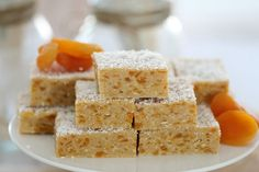 Apricot & Coconut Slice