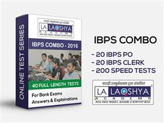 Buy #IBPS #PO #OnlineTestSeries from BuyTestSeries.com at discounted rates, to analyse and improve your preparation for upcoming bank exams. For more details, visit: http://goo.gl/92znx4