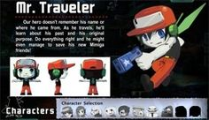 """""""Mr. Traveler's"""" real name is Quote. He had memory-loss. No one knows how he had memory-loss."""