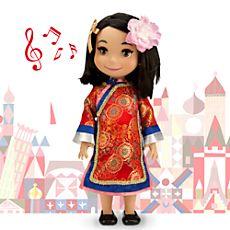 ''it's a small world'' China Singing Doll - 16''