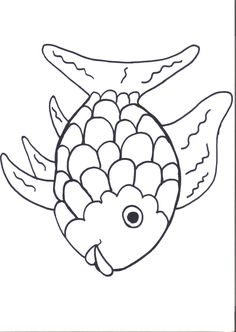 Rainbow Fish Printables August Preschool Themes | Child Care Information | Kids Coloring Pages | Coloring Books for Kids | Printable Coloring Pages for Kids