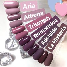 Color mauve All the colors I love on my nails! All the colors I love on my nails! Cute Acrylic Nails, Cute Nails, Pretty Nails, Nagellack Design, Nagellack Trends, Hair And Nails, My Nails, Dream Nails, Nagel Gel