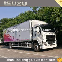 GIGA 4X2 Isuzu van type cargo truck