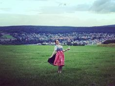 Sometimes you just gotta frolic in a field with a glass of wine. A look back at pictures from last week's wedding in Germany. The reception was at Königs-Alm, a charming hilltop Bavarian restaurant in Nieste, just east of Kassel. #germany #kassel #wedding #travel #wanderlust #travelblogger #travelblog #explore #seetheworld #travelphotgraphy #traveladdict #travelgram #traveler #igdaily #lovetotravel #traveldiary #flowers #nieste #königsalm #bavarian #beer #dirndl #wine #oktoberfest…