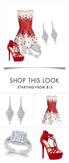 """""""Untitled #1"""" by hi1864 ❤ liked on Polyvore featuring Allurez and Jessica Simpson"""