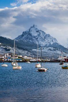 Ushuaia, la ciudad más austral del mundo, provincia de Tierra del Fuego - Argentina