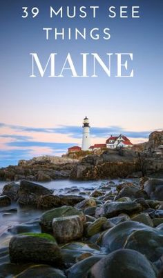 Top 20 Things to do in Maine - Must See Maine Attractions If you are planning a trip I highly suggest Maine! Here are 20 things to do in Maine that you do not want to miss! Check out these Maine attractions on the Maine Travel Guide. East Coast Travel, East Coast Road Trip, New England States, New England Travel, Maine New England, Dream Vacations, Vacation Spots, Vacation Ideas, Greece Vacation