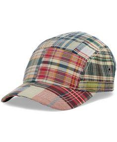 b0c78d6f3f3 Polo Ralph Lauren Madras Camp Hat Hat Men