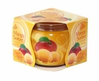 PAN AROMA SCENTED CANDLE MANGO SORBET Mango Sorbet, Scented Candles, Health And Beauty, Household, Fragrance, Fish, Pisces, Perfume