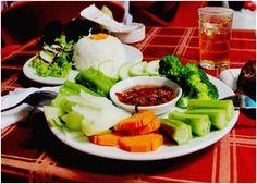 Chi tiết món ăn   Rau củ luộc kho quẹt