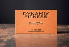 Pike st press letterpress printers in downtown seattle pike street orange fizz french paper letterpress printed by pike street press seattle fitness business cards colourmoves Choice Image