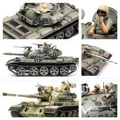 Tiran 5 - израильская модификации советского среднего танка Т-55 со штатной 100-мм пушкой. Масштаб модели: 1/35. Длина в собранном виде: 252 мм. Ширина в собранном виде: 96 мм. Особенности модели: траки с эффектом провисания; две фигурки (командир и заряжающий) в комплекте.