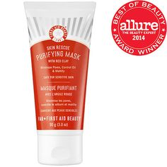 Skin Rescue Purifying Mask With Red Clay - First Aid Beauty   Sephora