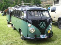 Kinda cool Kombi w/a trailer....