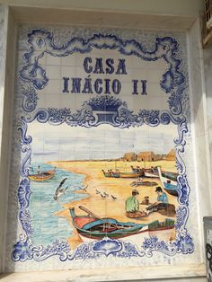 Loving the tile pictures in Portugal Algarve, Portuguese, Portugal, Tile, Traditional, Beach, Pictures, Mosaics, Photos