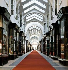 The Burlington Arcade is one of the most beautiful covered shopping streets in Britain. This oasis of calm is one of London's hidden treasures packed with luxury accessories. Burlington Arcade, London Design Week, Shopping Street, European Vacation, Building Exterior, Bond Street, London England, Places To See, Britain