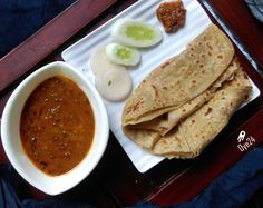 Dal Makhni with Parantha Combo. Free Delivery in Indore. Combos available day and midnight. #oye24  #indore #indori #indorediaries  #freedelivery #freehomedelivery  #food #foodie #foods #orderonline  #instalike #instamood #instapic