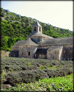 The Abbaye de Senaque is a beautiful 12th century abbey in the Vauclause region of southern France, near the Provencal town of Gordes. Senanque was the first of three Cistercian abbeys called the Three Proven Sisters. During the summer, the lavender fields surrounding the abbey are spectacular.