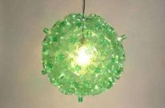 PET Bottle Lighting - The Bubble Chandelier by Souda is a Sparkling Eco-Friendly Orb (GALLERY)
