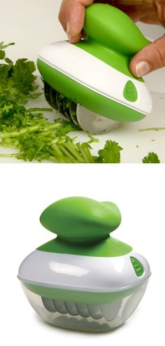 Rolling Herb Cutter
