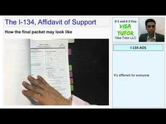 All about the Fiance K-1 visa Affidavit of Support form I-134. Step by step what it is and how to prepare it for 2020 Fiance Visa, K 1, Marry You, For Everyone