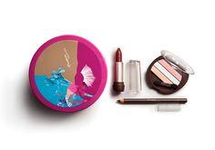 Combo Look Contemporâneo Natura Aquarela - Sombra + Batom + Lápis + Porta-maquiagem