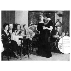 Same sex couples dancing at the infamous Eldorado gay and transvestite bar in 1920s Berlin.