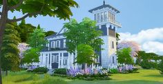 Simsational designs: Squally Point Lighthouse