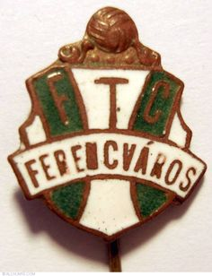 FTC Ferencvaros, Sport - Hungary - Pin - 12571 Hungary, Christmas Ornaments, Holiday Decor, Sports, Logo, Xmas Ornaments, Hs Sports, Logos, Logo Type