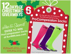 Run with Jess: 12 Days of Christmas Giveaways - Day 6
